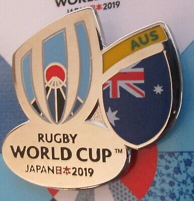 NEW Nickel RWC 2019 Rugby World Cup 2019 AUSTRALIA Pin Badge