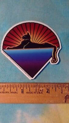 Grateful Dead Jerry Garcia Cats Under The Stars 2.5 x 2.25 Inch MINI Sticker
