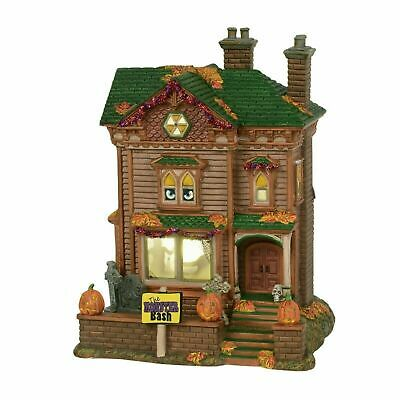 Dept 56 Halloween Monster Mash Party House Building 6000659 NEW