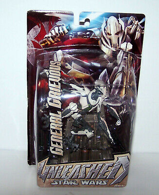 NIB Collectible Hasbro 2005 Star Wars Unleashed General Grievous Action Figure.