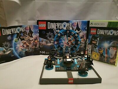 Lego Dimensions Xbox 360 Starter Pack portal + figures + game disc