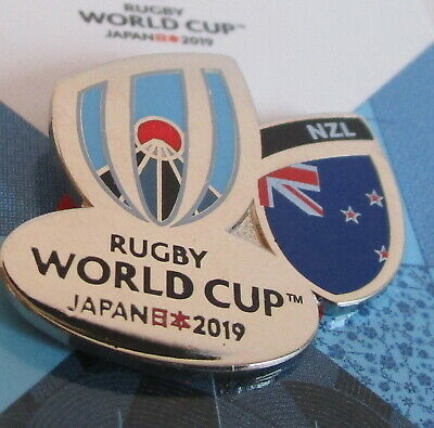 NEW Nickel RWC 2019 Rugby World Cup 2019 NEW ZEALAND Pin Badge