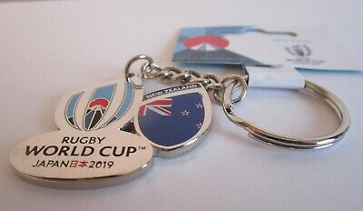 NEW RWC 2019 NEW ZEALAND Rugby World Cup 2019 Keyring