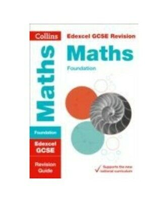 "Collins GCSE ""Edexcel GCSE 9-1 Maths Foundation Revision Guide"""
