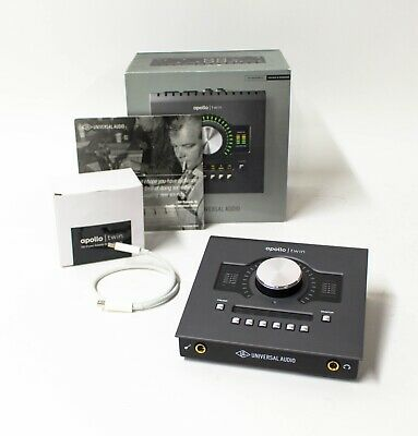 Universal Audio Apollo Twin MKII SOLO 10x6 Thunderbolt Audio Interface