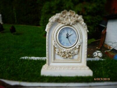 Collectable : Ornate Floral Clock : Gwo Only £6.99