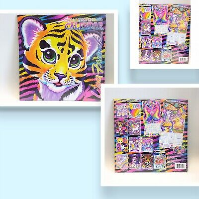 NEW Lisa Frank Official 2020 12 Month Calendar Puppies Kittens Dolphins Unicorns