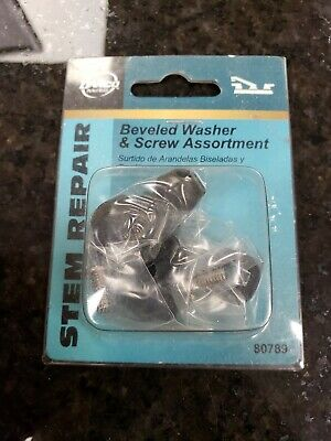 Danco 80789 Beveled Washer and Screw Assortment, 10-Piece