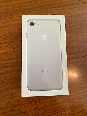 """New in Sealed Box Apple iPhone 7 4.7"""" Unlocked Smartphone/32GB/silver"""