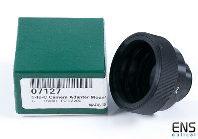 Orion T2 to C-Mount adapter - 07127 Mint Unused