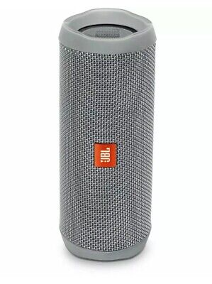 JBL Flip 4 Waterproof Bluetooth Wireless Portable Stereo Speaker - Grey Free Shp
