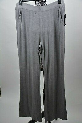 GUESS  Women's Pants Heather Gray  Pull On Opal Flare Stretch Size X-Large