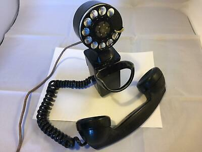 Vintage Western Electric 43A Space Saver G1 211 Rotary Dial Wall Mount Telephone
