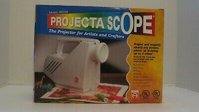 Projecta Scope Model PJ768 Art Drawing Tracing Overhead Projector-Tested