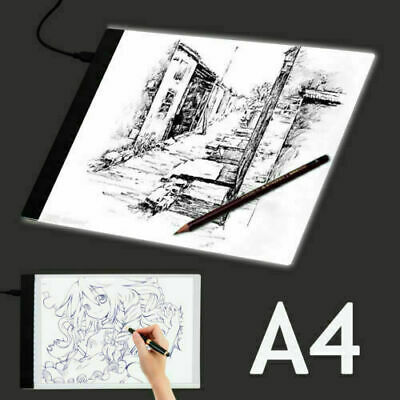 A4 LED Stencil Board Light Box Artist Art Tracing Draw Copy Plate Table kid Gift