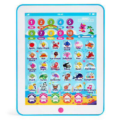 PINKFONG BABY SHARK TABLET WowWee Kids Toddler Child Educational Preschool Toy