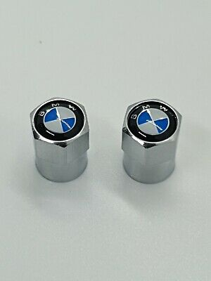 BMW Chrom Tyre Valve Caps Dust Caps Motorcycle S1000XR S1000RR S1000R R Nine T