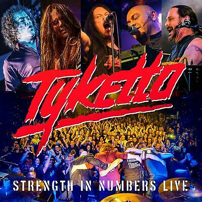 Tyketto - Strength In Numbers Live CD ALBUM NEW (8TH NOV)
