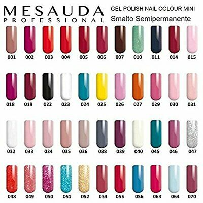Mesauda Gel Polish Nail Color 10ml Smalto Semipermanente