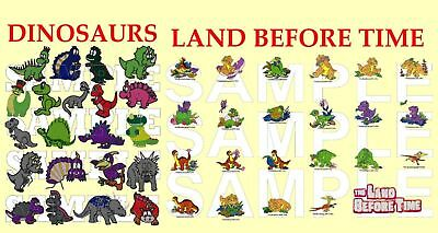 2 In 1 Dinosaurs And Land Before Time, Pes Embroidery Machine Designs Cd