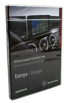 Mercedes SD Karte Garmin MAP PILOT 2018 Europa A2189062903