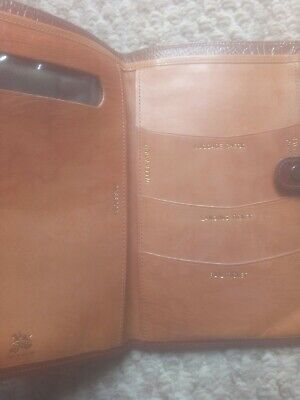 Real Leather Vintage Travel Wallet (Bliss)
