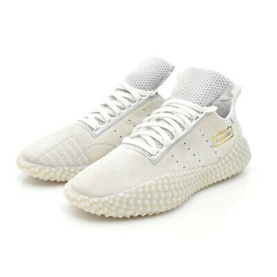 adidas Men Originals Kamanda 01 White Lifestyle Sneakers Pigskin Gold DB2778