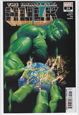 IMMORTAL HULK #24 2019 1st print Alex Ross Marvel Comics NM