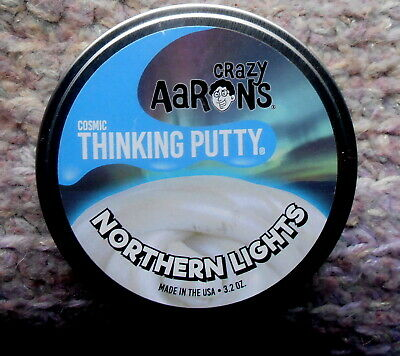 """4/"""" Tin Novelty /& Gag Toys Crazy Aaron/&39s Thinking Putty Star Dust Cosmic"""