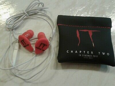 IT: CHAPTER TWO movie - Red HEADPHONES in wallet! Official WBEI 2019 PROMO! NEW!