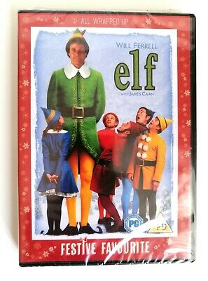 ELF starring Will Ferrell -  BRAND NEW AND SEALED DVD.