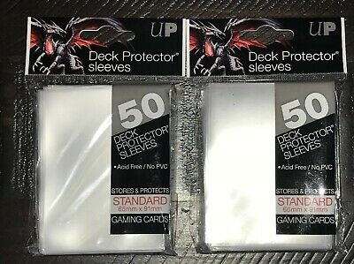 Ultra Pro Deck Protector Sleeves 50 Pink MTG Pokemon Gaming Cards Standard