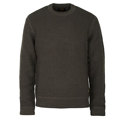 Carhartt wip Mason Knitted Sweater Cypress - Carhartt Pullover in Military Look