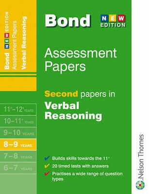 Bond assessment papers. Second papers in verbal reasoning by J M Bond (Pamphlet)