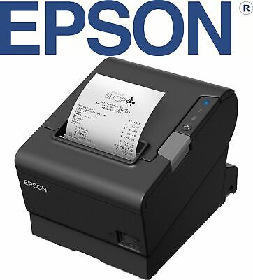Epson TM-T88VI POS Thermal Receipt Printer USB /Network Ethernet Interface TMT88