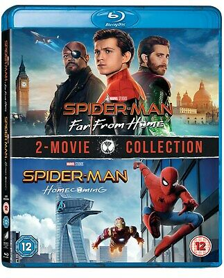 Spider-Man - Homecoming/Far from Home [Blu-ray]