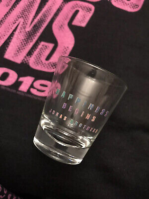 Jonas Brothers Happiness Begins Tour 2019 Shot Glass