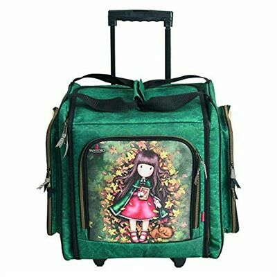Santoro Autumn Leaves Card Craft Collection - Wheelable Craft Tote - GOR 245104