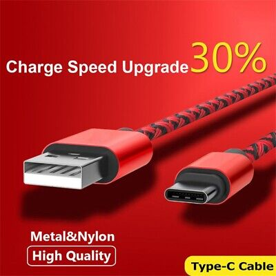 Data Fast Charging Type-C 3.1 Cable USB-C For Samsung Galaxy Note9 S8 S9+ Plus