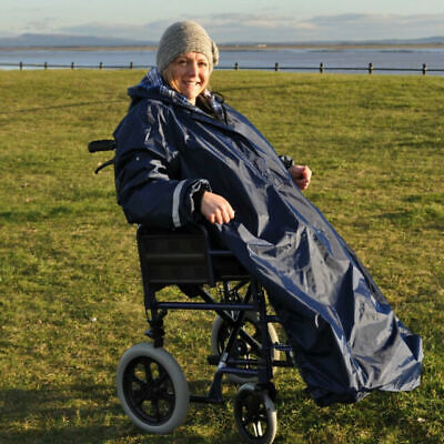 Able 2 Splash Sleeved Wheelchair Mac Lined Medium  Deluxe RRP £65.99