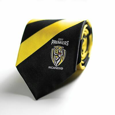 Richmond Tigers Official AFL 2017 Premiers Premiership Tie