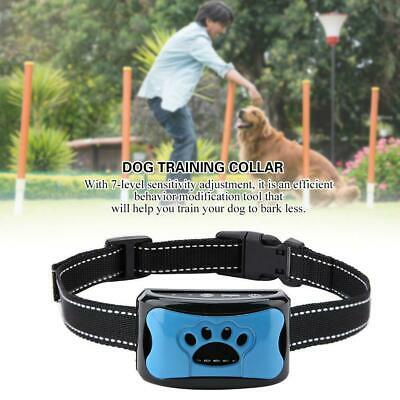 1PC Barking Control Device Rechargeable Waterproof Anti-Barking Collar Detection