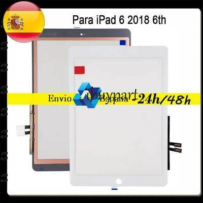 Tactil Pantalla Para iPad 6 2018 6th Touch Screen Digitalizador Reemplazo Blanco