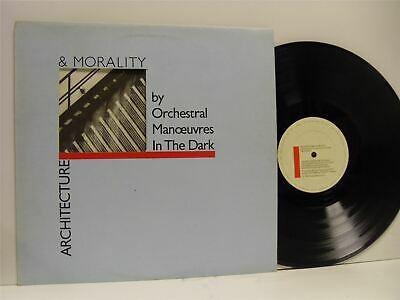 ORCHESTRAL MANOEUVRES IN THE DARK (OMD) architecture & morality LP EX/VG+ DID 12