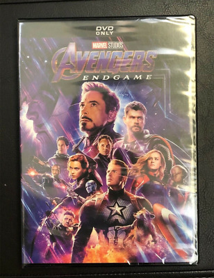Avengers: Endgame (DVD 2019) BRAND NEW and SEALED - FREE SHIPPING MARVEL Movie