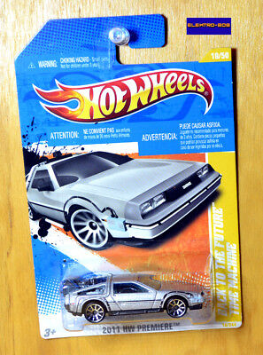 Hot Wheels Back to the Future Delorean [Time Machine] BTTF - New/Sealed/XHTF