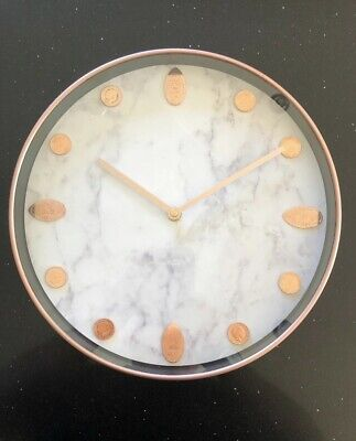 UK Elongated Coin Wall Clock With Welsh Collection