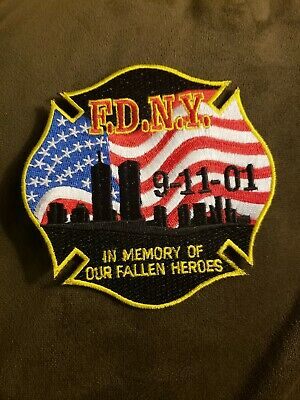Fdny  9/11 Patch -New
