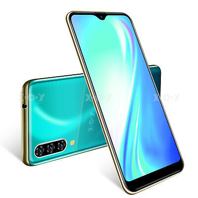 "6.3"" Note 7 Cheap Unlocked 16GB Android 9.0 Cell Phone Smartphone Dual SIM 4Core"