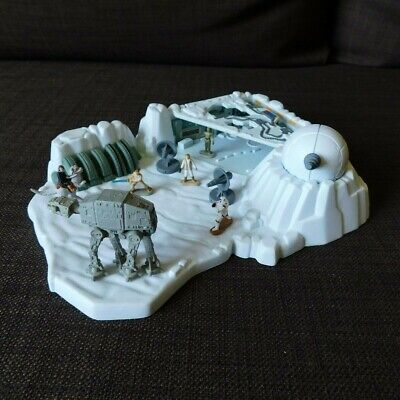 Star Wars Micro Machines Playset - ICE PLANET HOTH- Complete